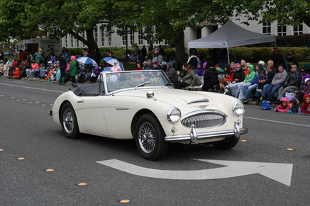 Mike McMullen 1964 Austin Healey 3000 BJ