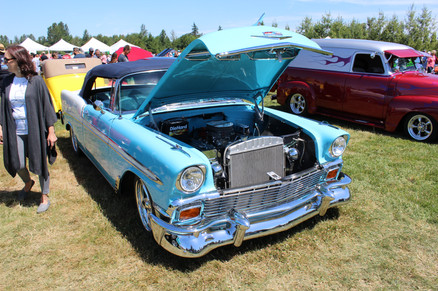 Fred Lively 1956 Chevy convertible.JPG