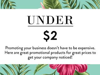 Under $2