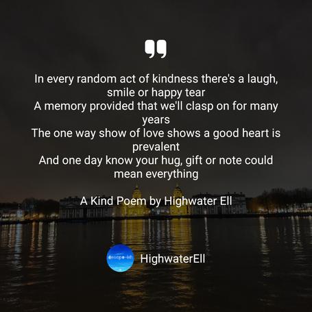 A Kind Poem