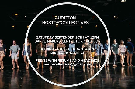 CALLING ALL TORONTO DANCERS! _We are loo