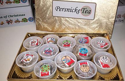 Twelve Teas of Christmas.