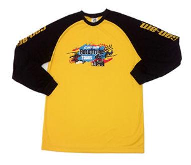 Camiseta em DRY FIT 100% poliéster,mangas longas,estampada em silk screen de alta qualidade.
