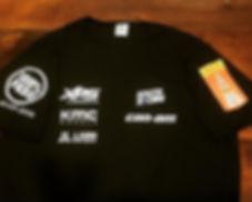 Camiseta em DRY FIT 100% poliéster estampada em silk emborrachado de qualidade.