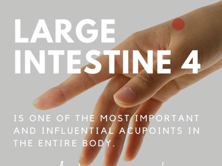 Meridian Point: Large Intestine 4