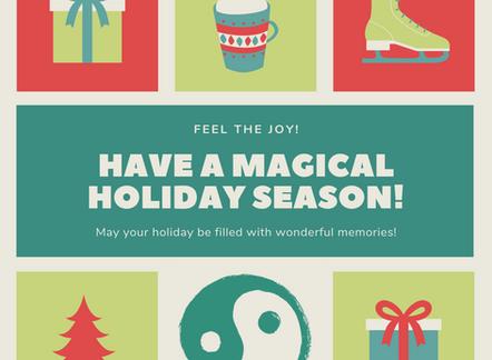 Have a Magical Holiday Season!