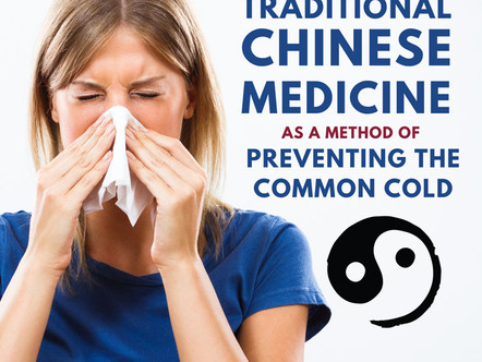 Research Update: TCM and Cold Prevention