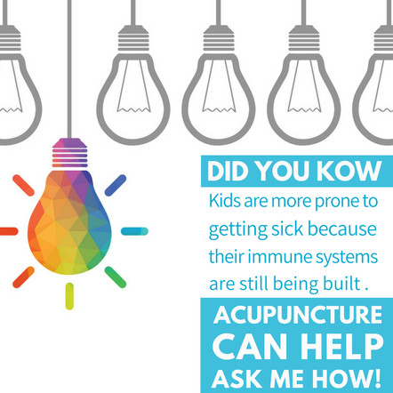 TCM and Acupuncture: Improving Children's Immune System