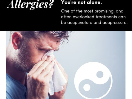 Research: The Effects of Acupuncture on Allergies