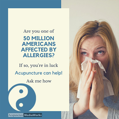 Research Update – Acupuncture and Allergies
