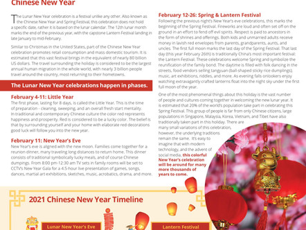 Chinese New Year is Upon Us