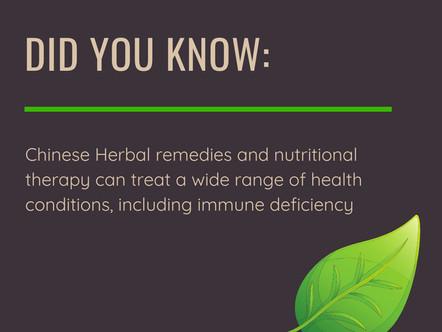 Immunity Enhancing Herbal Remedies