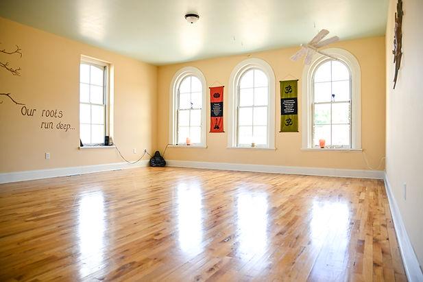 Our beautiful, sunlight filled studio