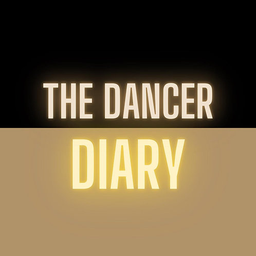 The Dancer Diary - A5 - Black