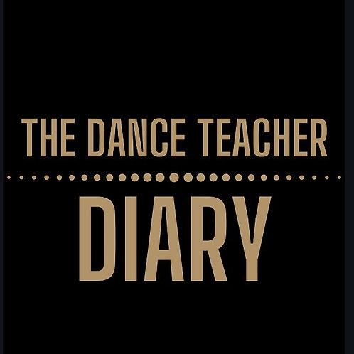 The Dance Teacher Diary - A5 - Black