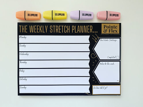 The Stretch Planner - A4