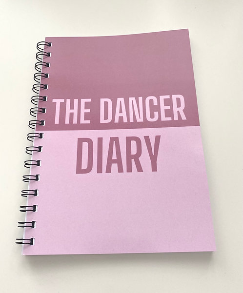 The Dancer Diary - A5 - Blush