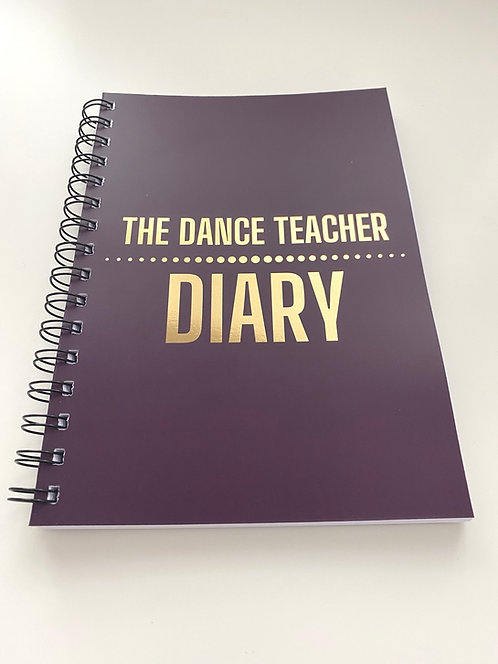 The Dance Teacher Diary - A5 - Berry