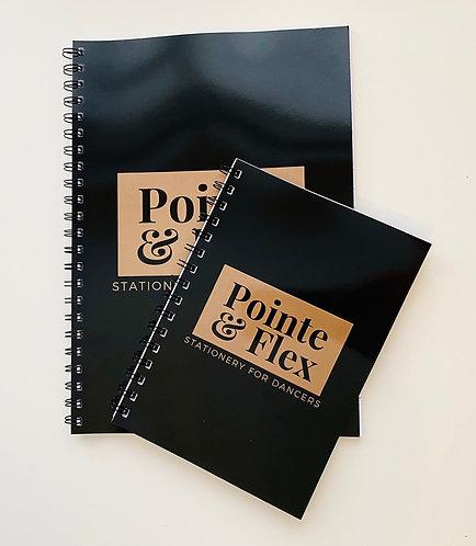 Pointe & Flex #dancerlife Notebook
