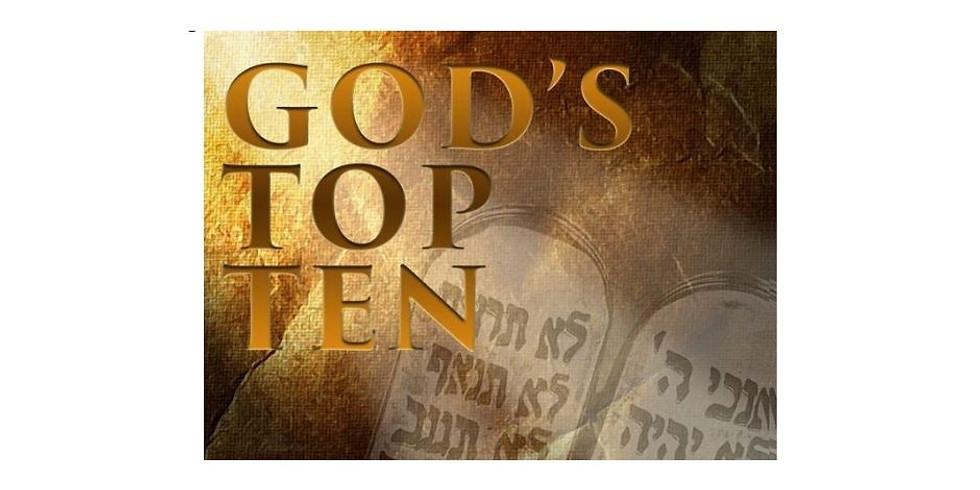 """God's Top Ten"" sermon series"