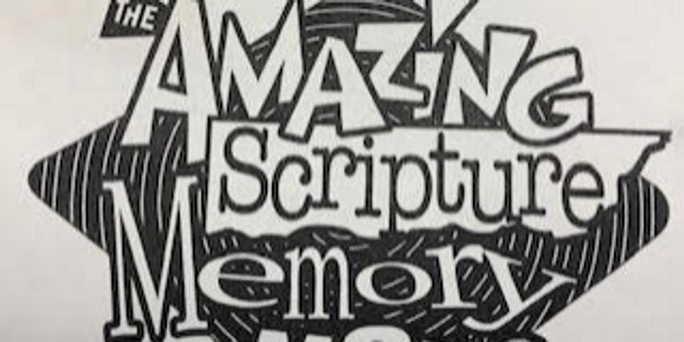 Amazing Scripture Memory Maze