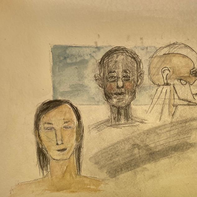 face sketch work