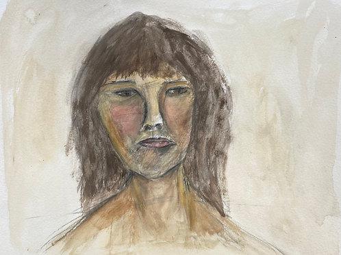 Self portrait (framed)