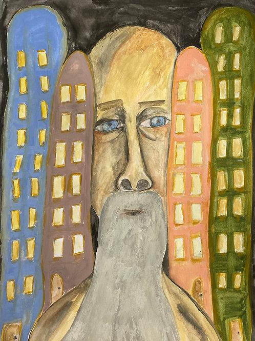 City Life (unframed)