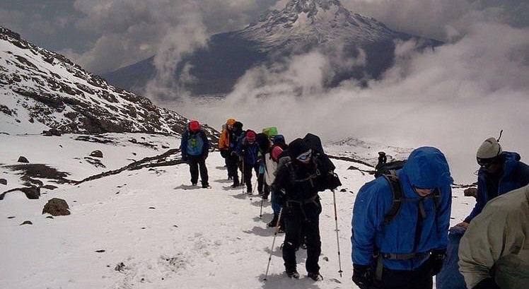 Mt. Kilimanjaro is on Fire