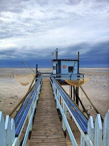Pêche sur la côte charentaise