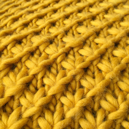Star Stitch Cushion Cover Knitting Pattern Learn How To Knit