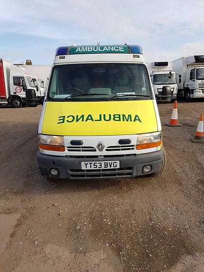 One of the Ambulances
