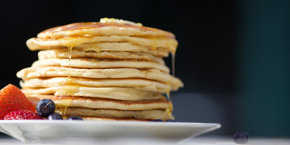 Easter Sunday Pancake Breakfast: Serving from 8:30am - 9:30am