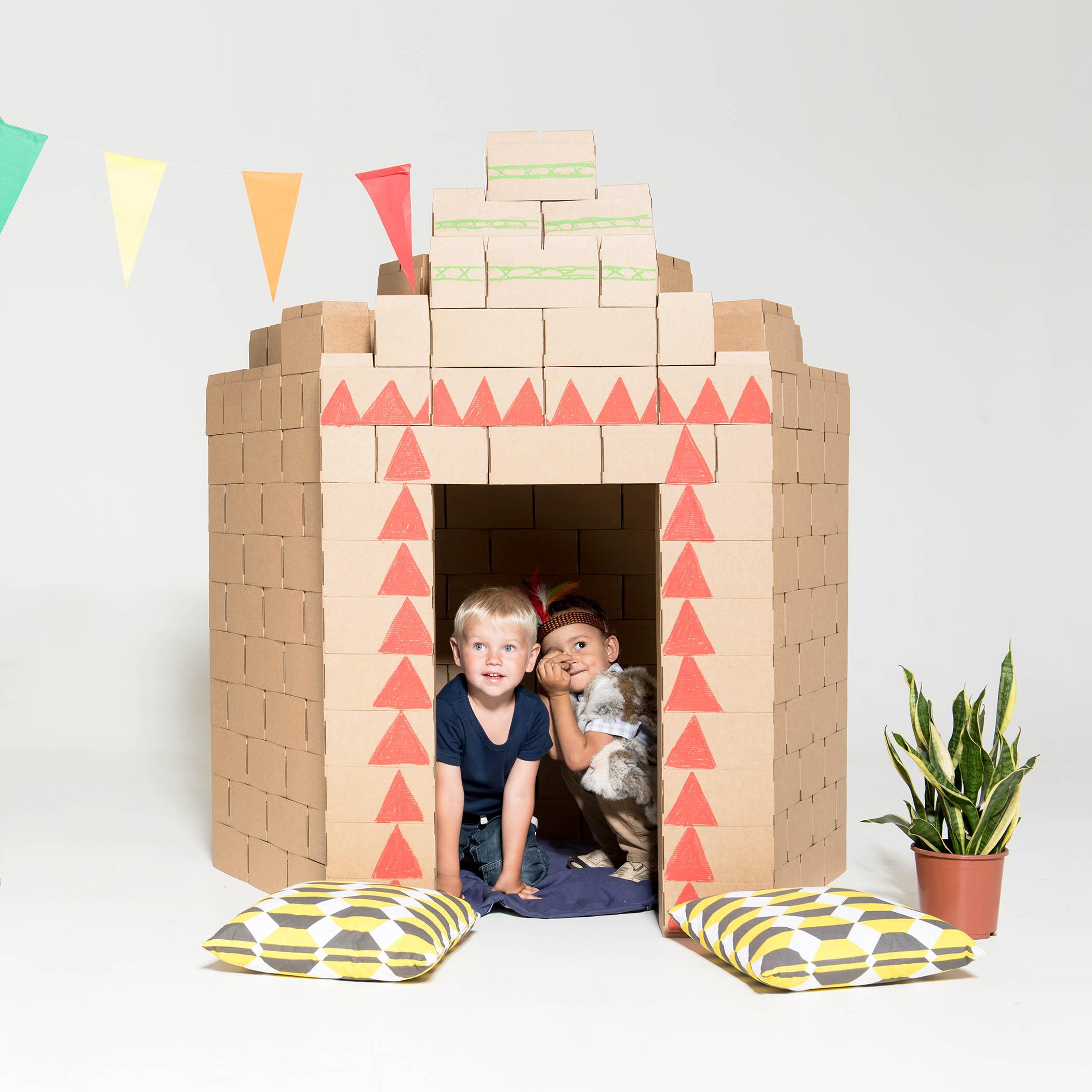 Картонные кубики Gigi bloks