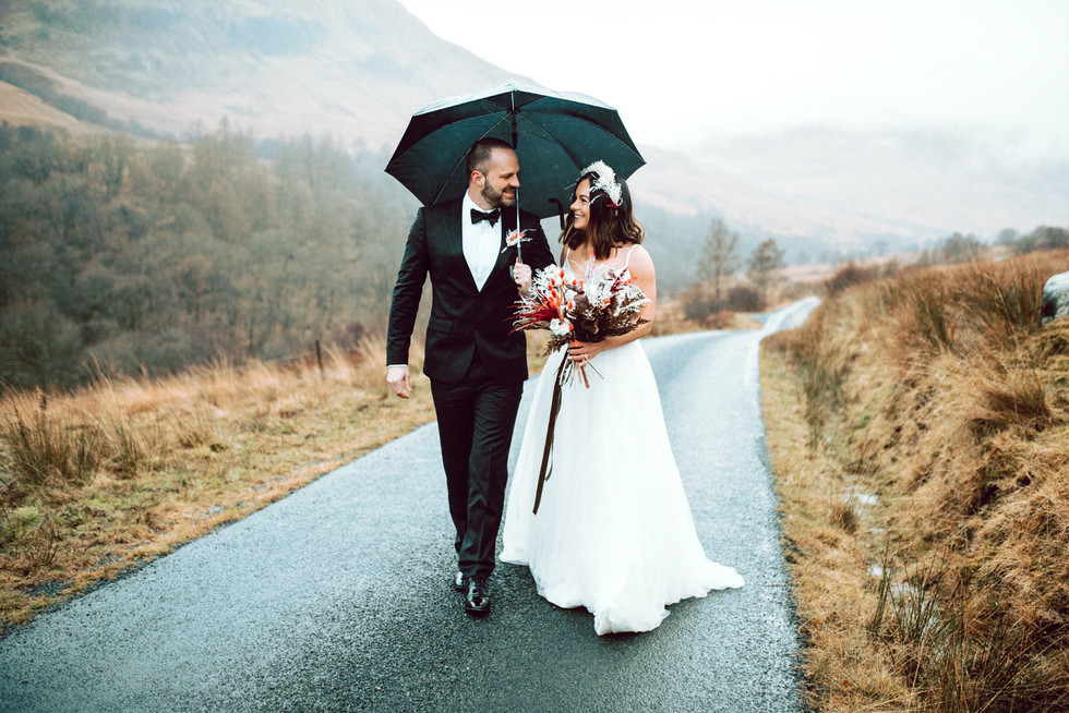 Scottish Elopement - Flossy & Dossy and Northern Aye and Wild Iris 28