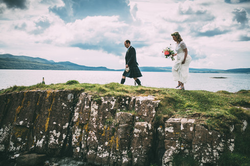 Scottish Coastal Wedding