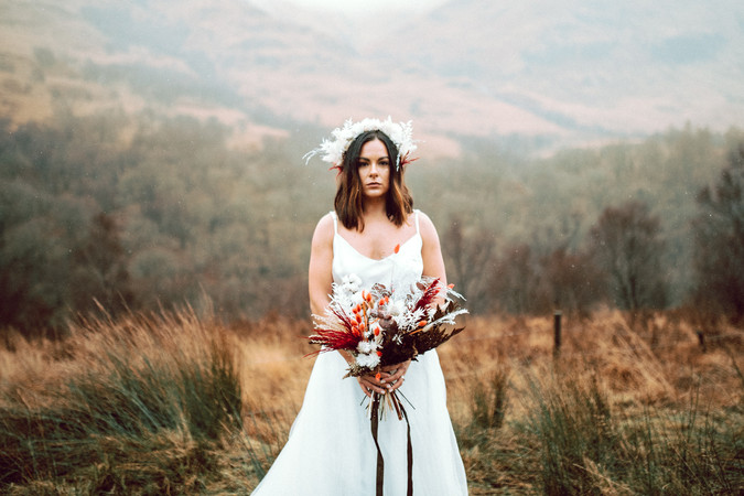 Scottish Elopement - Flossy & Dossy and Northern Aye and Wild Iris 24