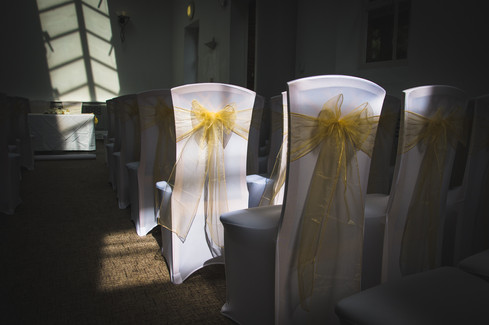 Wedding seat covers