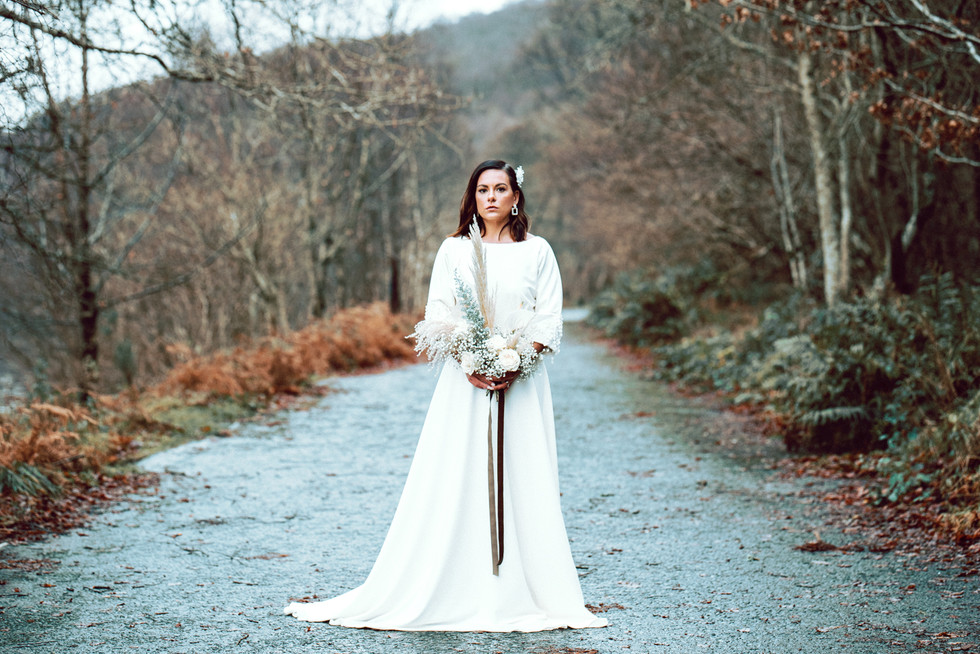 Scottish Elopement - Flossy & Dossy and Northern Aye and Wild Iris 11