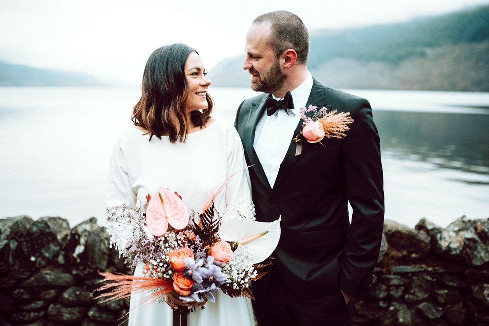 Scottish Elopement - Flossy & Dossy and Northern Aye and Wild Iris 5