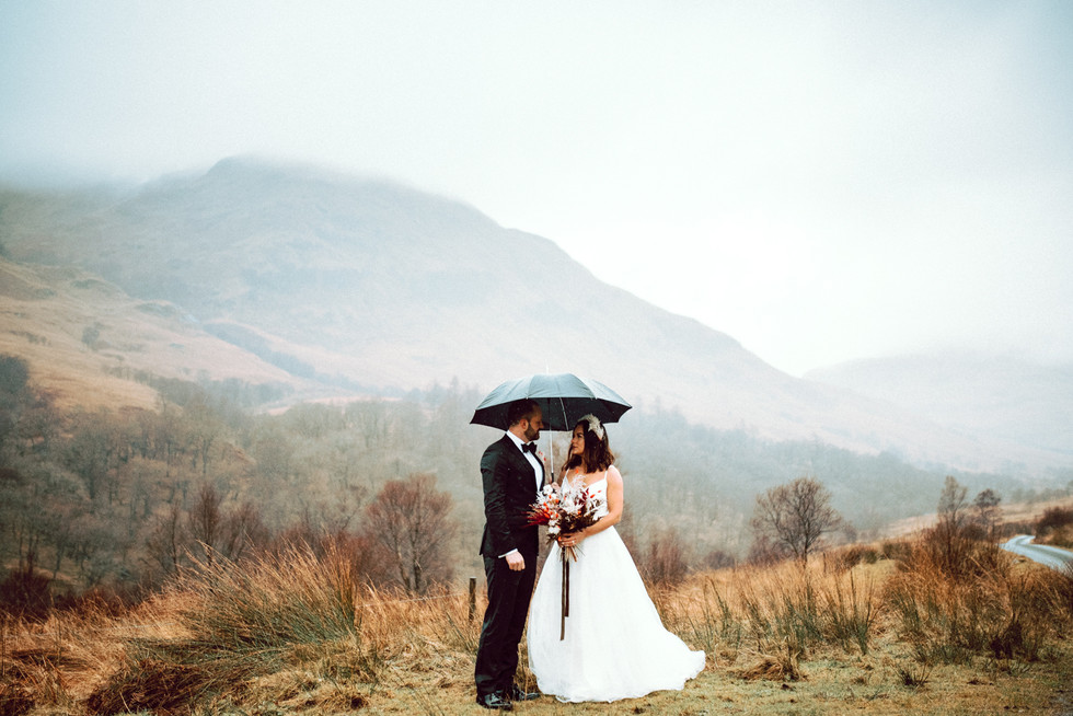 Scottish Elopement - Flossy & Dossy and Northern Aye and Wild Iris 18