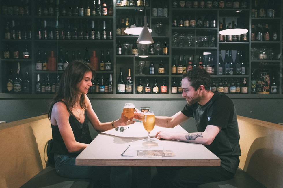Couples in a Bar