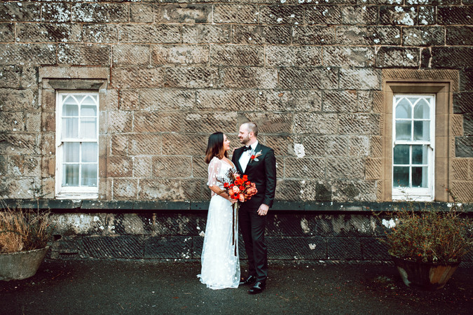 Scottish Elopement - Flossy & Dossy and Northern Aye and Wild Iris 32