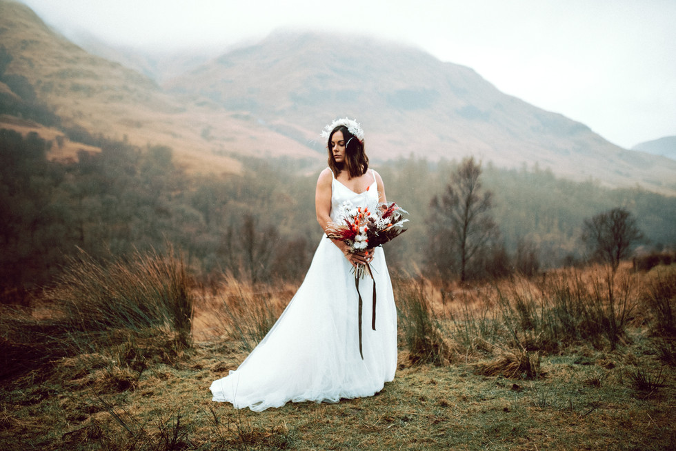 Scottish Elopement - Flossy & Dossy and Northern Aye and Wild Iris 22