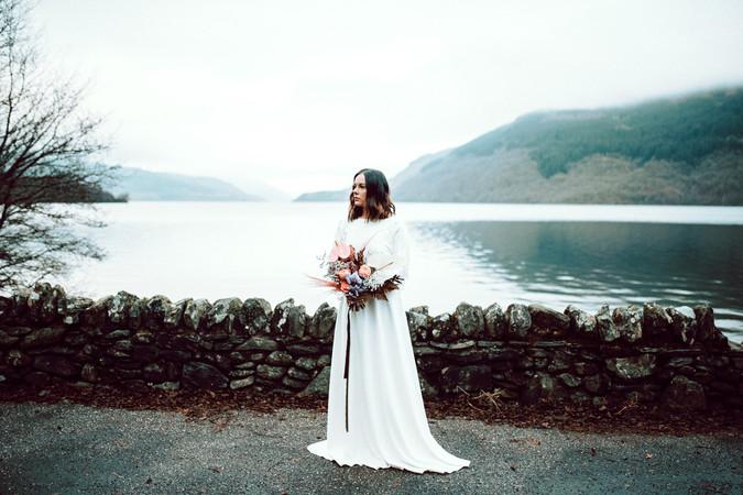 Scottish Elopement - Flossy & Dossy and Northern Aye and Wild Iris