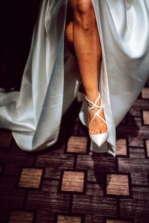 Brides Jimmy Choos