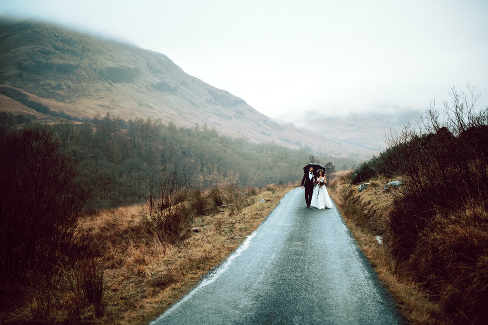 Scottish Elopement - Flossy & Dossy and Northern Aye and Wild Iris 29