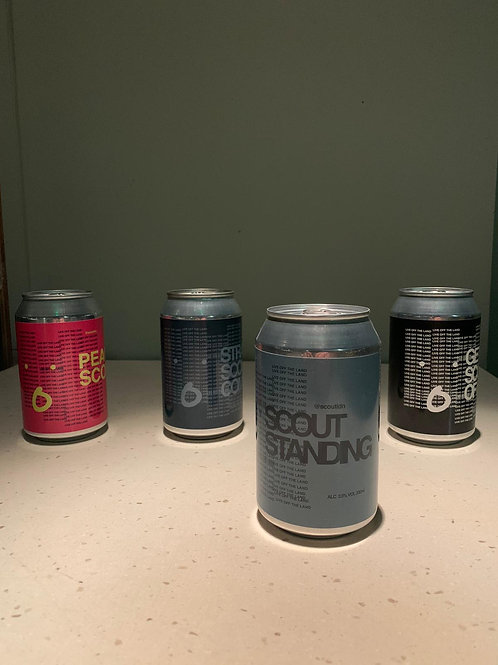4 PACK SCOUT BEERS