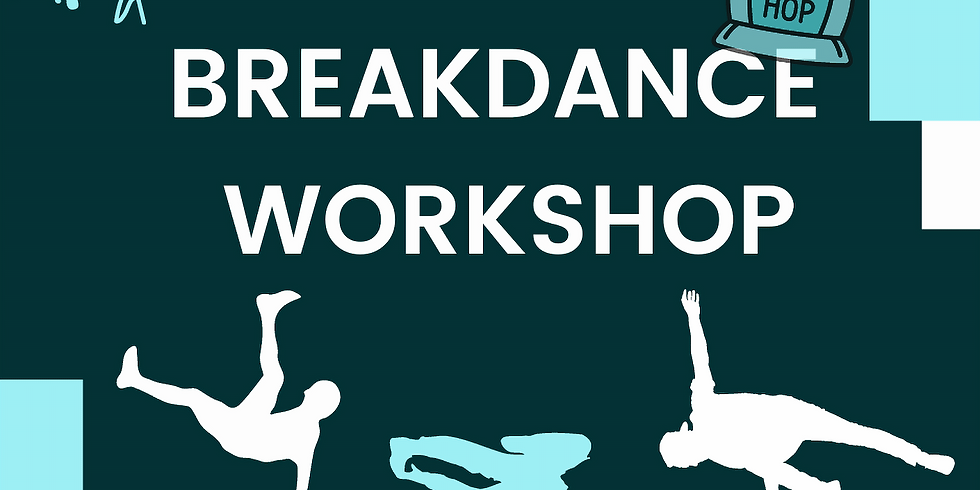 Steppin' UP Breakdance Workshop- 7yrs +