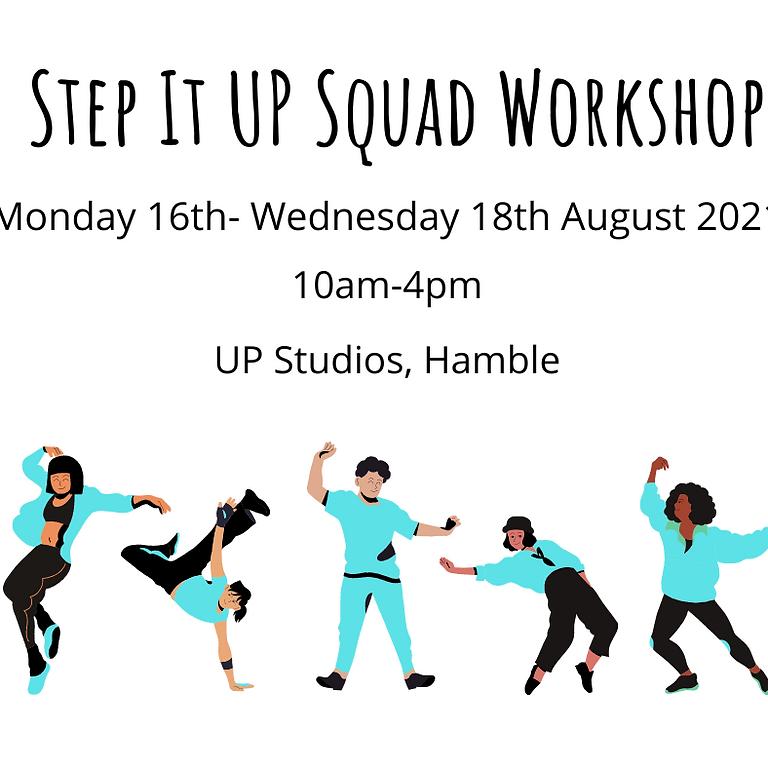 Step It UP Squad Workshop
